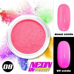 NEON UV pigment - neonový pigment v prášku 08 (A)