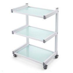 Pojízdný stolek se 3 policemi (K)