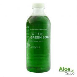 Aloe zelené mýdlo s Alantoinem 1000ml (K)