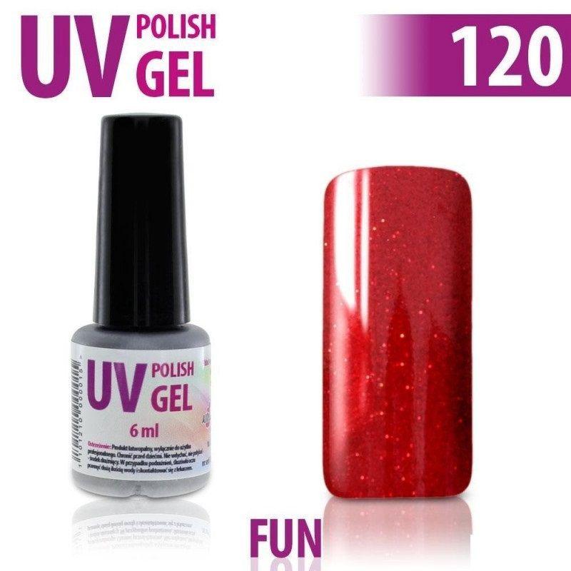 120.UV gel lak na nehty hybridní FUN 6 ml