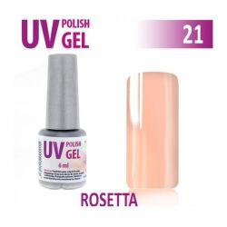 21.UV gel lak hybridní ROSETA - krémově růžová 6 ml (A)