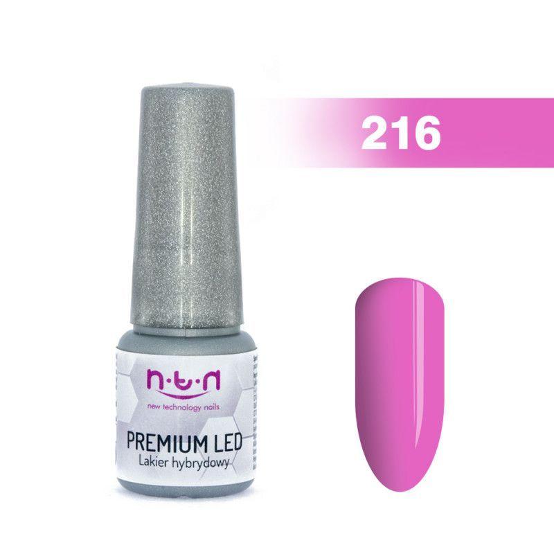 216.NTN Premium Led lak na nehty 6 ml