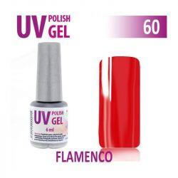 60.UV gel lak na nehty hybridní FLAMENGO 6 ml (A)