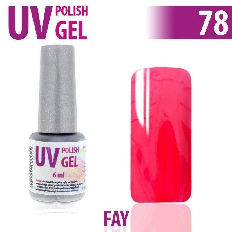 78.UV gel lak ne nehty hybridní FAY 6 ml