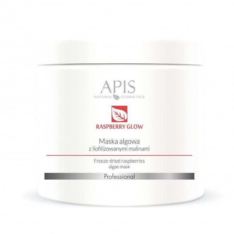 APIS Maska alginátová s mraženými malinami 250g