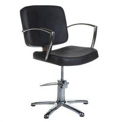 Dario holičská židle BH-8163 černá