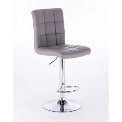 Barová židle 1015 šedá (VPT)