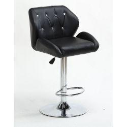 Barová židle 949w černá (VPT)