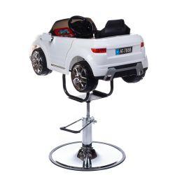 Dětská kadeřnická židle Range Rover bílá