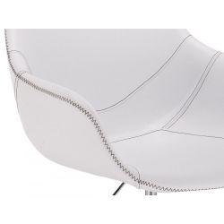 Kosmetické křeslo HR876CROS na kolečkách bílé