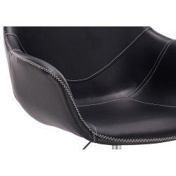 Kosmetické křeslo HR876CROS na kolečkách černé