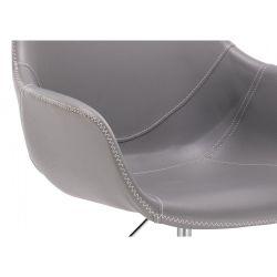 Kosmetické křeslo HR876CROS na kolečkách šedé