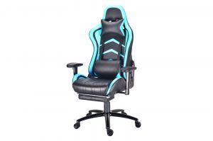Herní židle MONZA - světle modrá