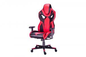Herní židle WARRIOR I - červená