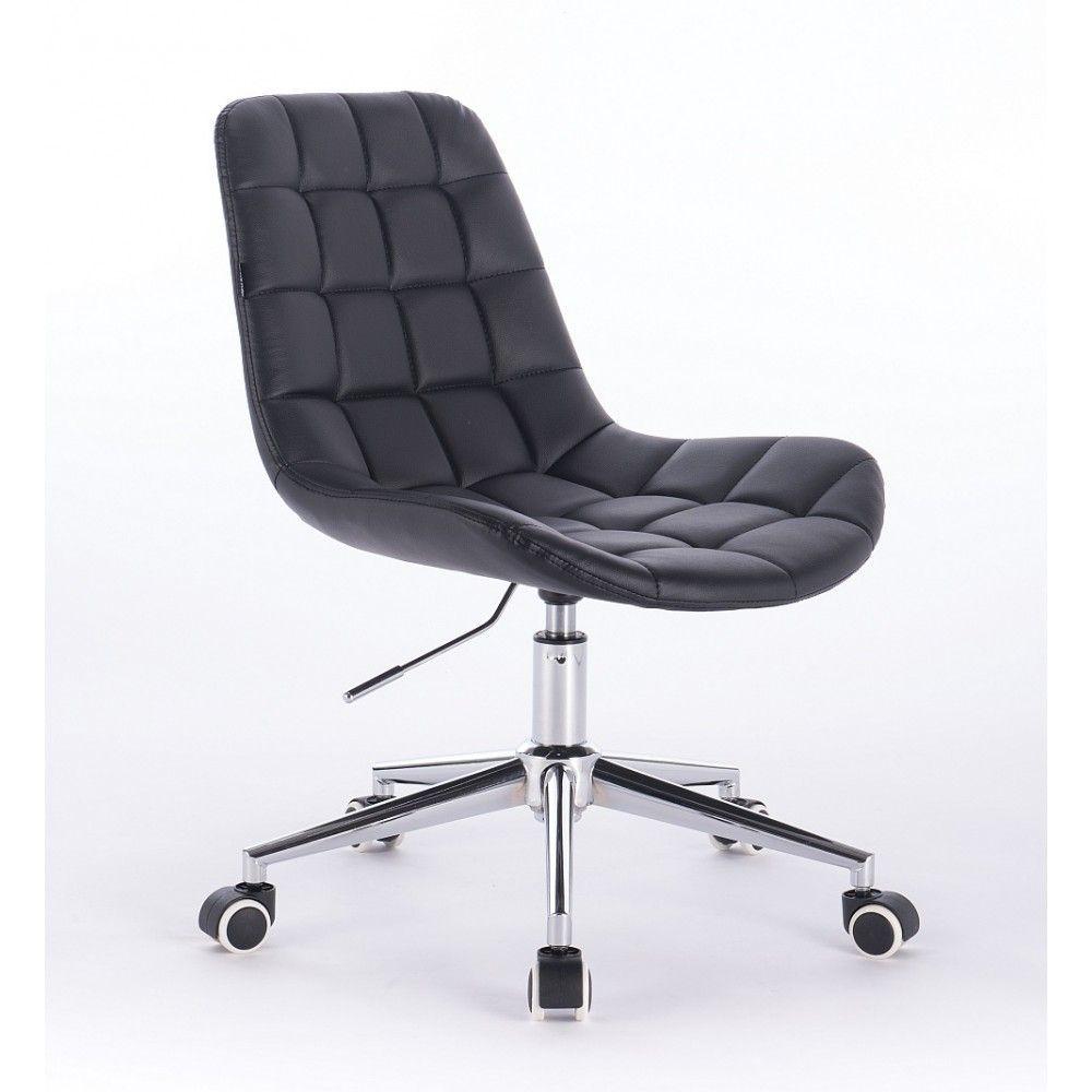 Kosmetická židle HR590K na kolečkách černá