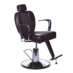 Barbers křeslo OLAF BH-3273 hnědé