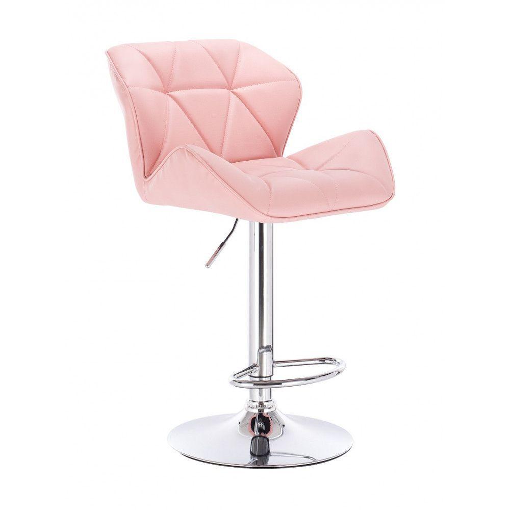 Barová židle 111w růžová