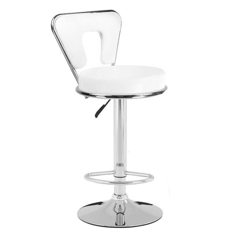 Barová židle 823 bílá