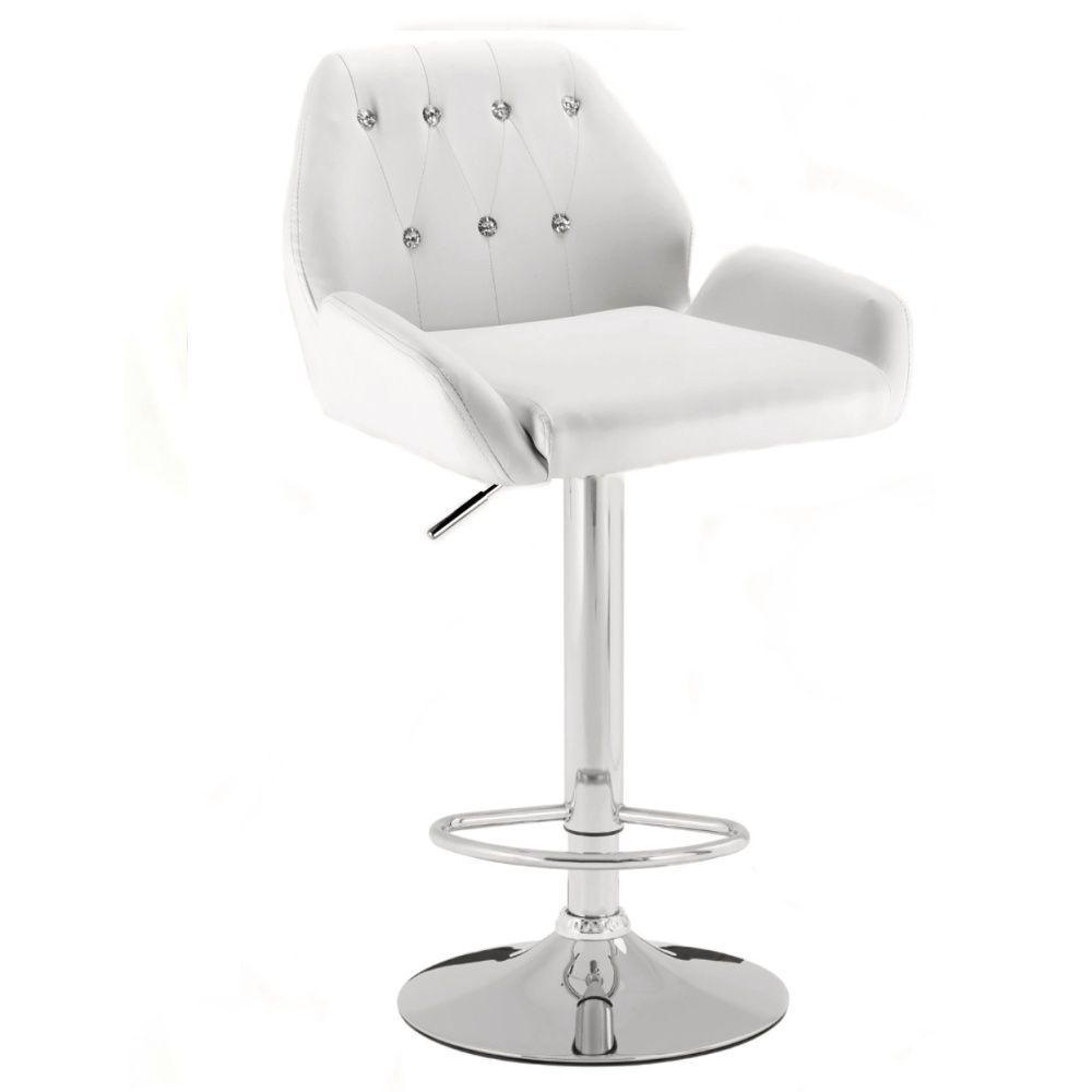 Barová židle 949w bílá