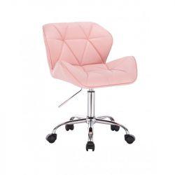 Kosmetická židle HC-111K růžová (V)