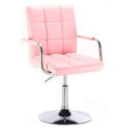 Kosmetická židle na kulaté podstavě HC-1015NP