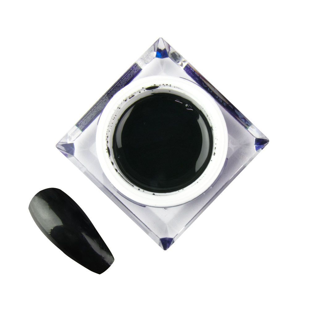 UV gel ARTISTIC MollyLac ART  černý  č. 4