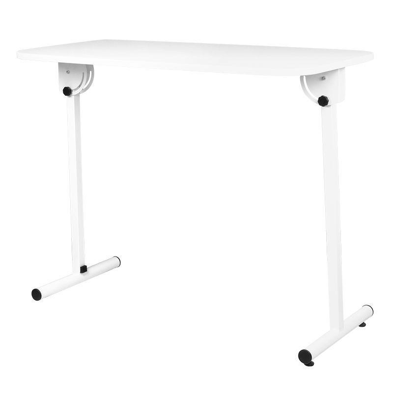 Skládací kosmetický stolek bílý