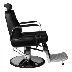 GABBIANO Barber křeslo PATRIZIO - černé