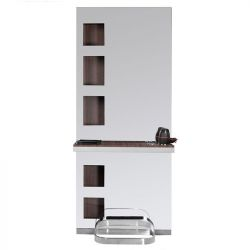 GABBIANO Kadeřnická zrcadlová stěna B058 VENGE