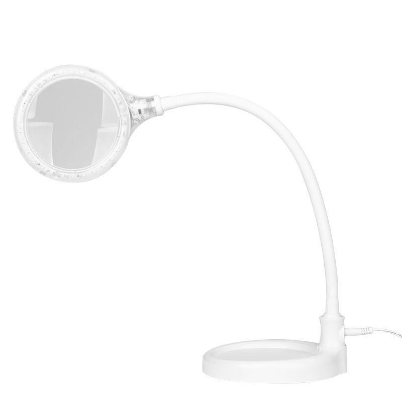 Lampa s lupou ELEGANTE 2014-2R 30 LED SMD 5D se základnou a klipem