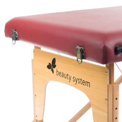 Masážní a rehabilitační stůl BS-523 - bordó
