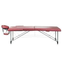 Skládací masážní a rehabilitační stůl BS-723 - bordó