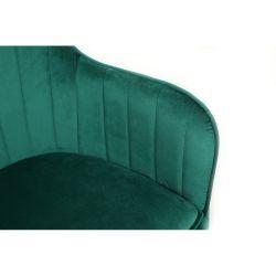 Kosmetické křeslo DARIO VELUR - zelená