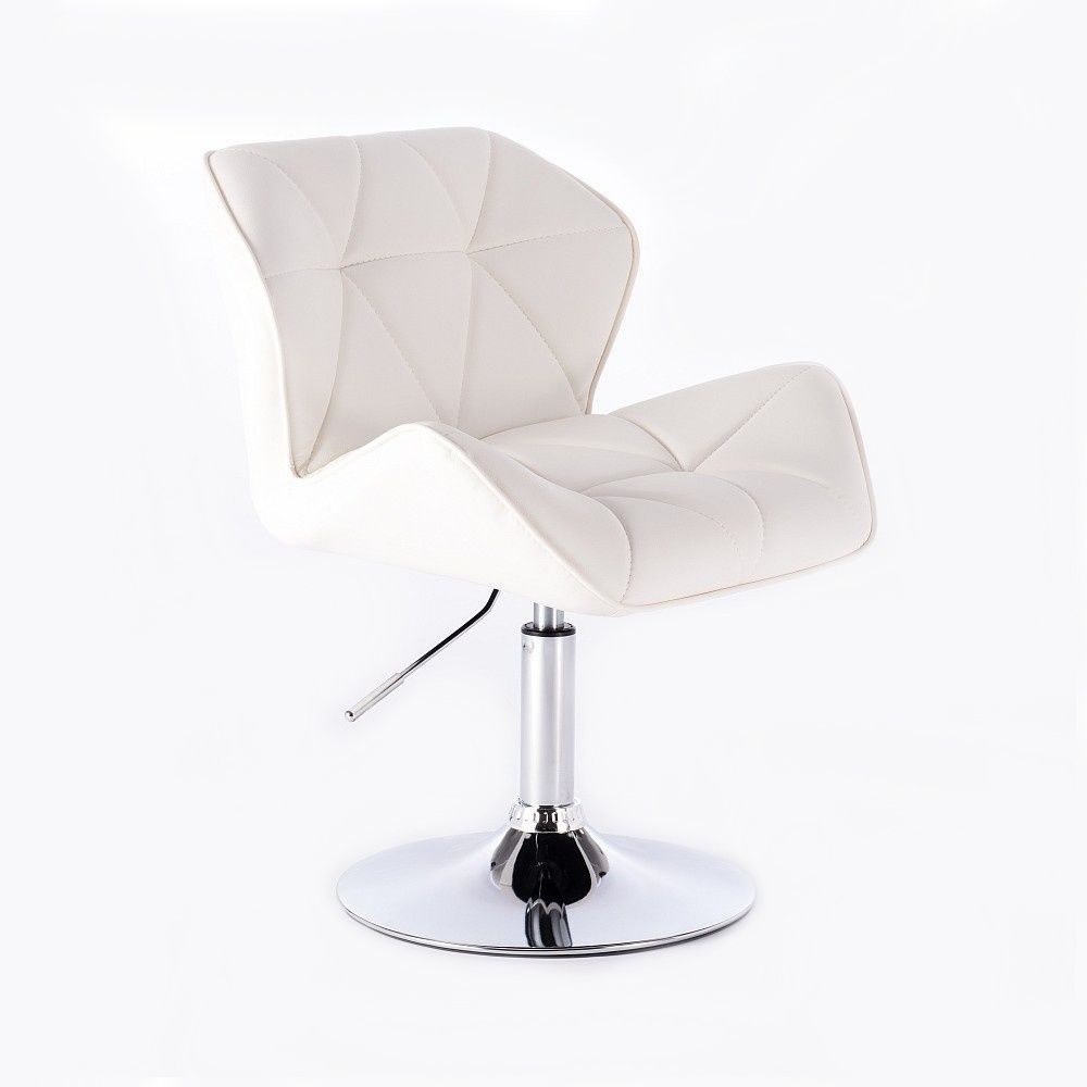 Kosmetická židle HC-111K bílá
